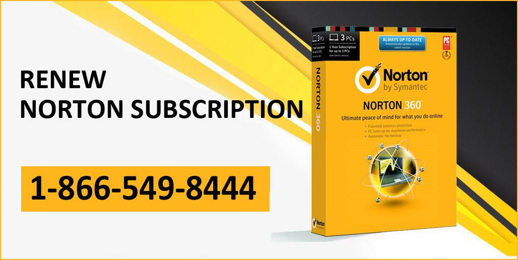 Renew Norton Subscription Online